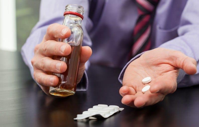 совместимость лекарств с алкоголем