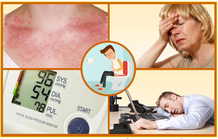 симптомы аллергии на глицин